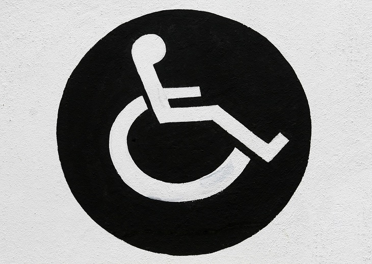 Dr Handicap - disabled parking sign