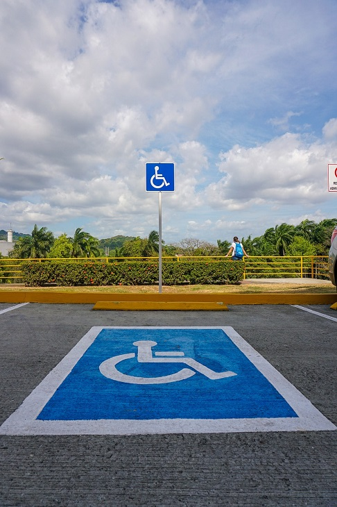 Dr Handicap - disabled parking place
