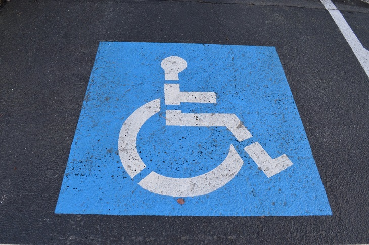 Dr Handicap - handicap parking sign