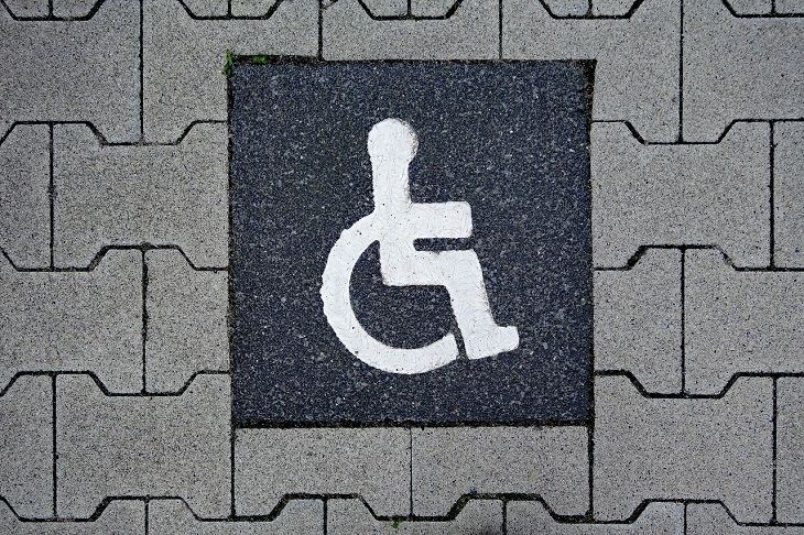 Dr Handicap - disabled parking space