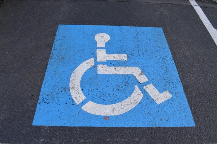 Dr Handicap - Blue Disabled Parking Symbol