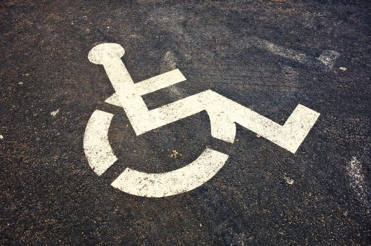Dr Handicap - Disabled Parking Symbol