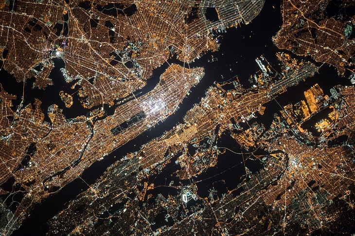 Dr Handicap - New York City from above