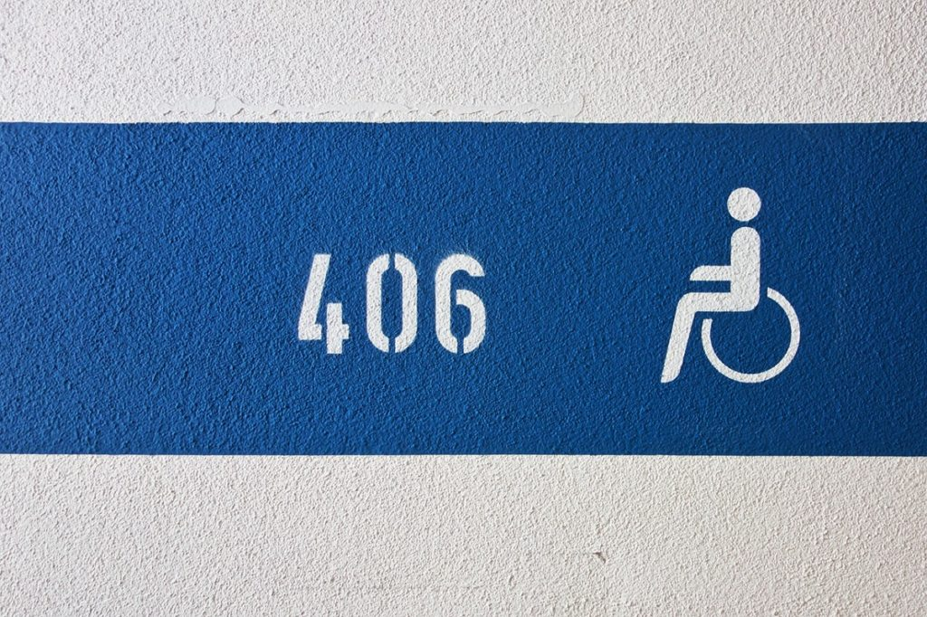 Dr Handicap - numbers on disabled parking permit
